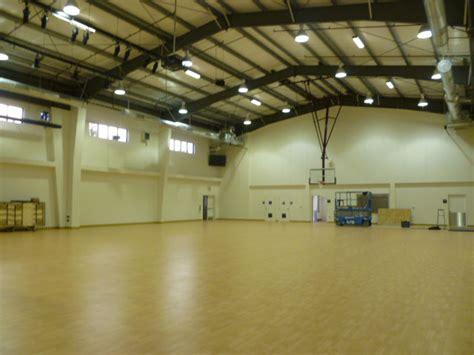 Metal Building Interior Walls by Multi Purpose Gymnasium Interior Facility Builders