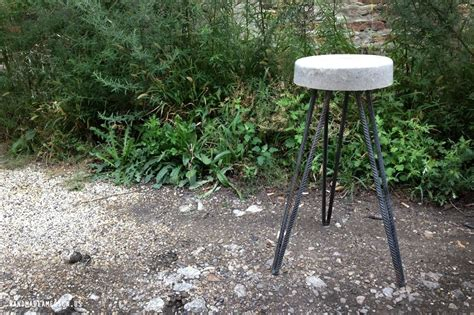 Handmade Stool - crafted concrete stool by handmade america