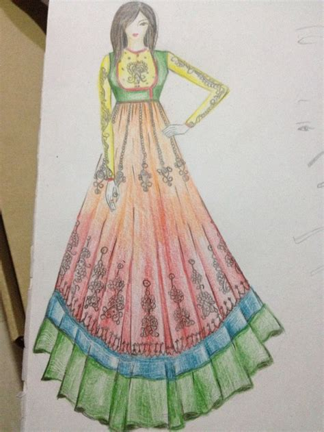 dress design hd photo 38 best images about anarkali suits sketches on pinterest