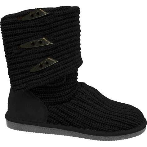 bearpaw knit boots black bearpaw knit boot s backcountry