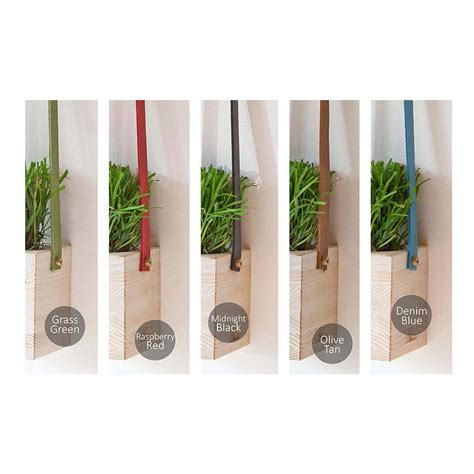hanging wall planters wooden hanging wall pot planters by factorytwentyone