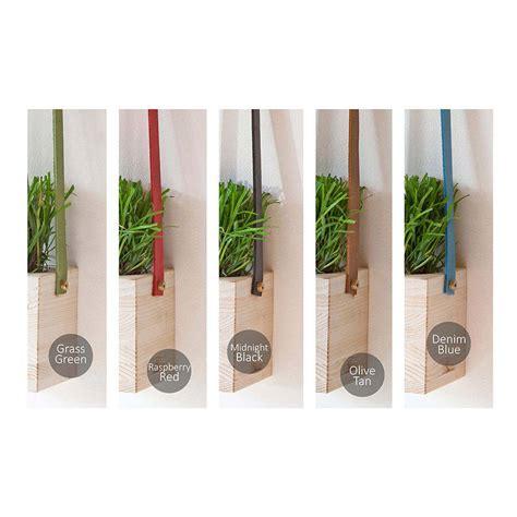 hanging wall planters wooden hanging wall pot planters by factorytwentyone notonthehighstreet