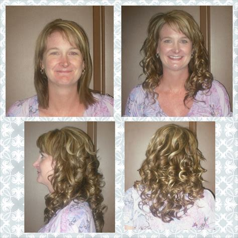 cinderella extensions curly hair before after cinderella hair extensions blonde hair