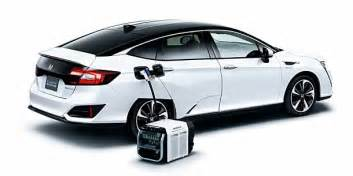 Honda Electric Car Price 2017 Honda Clarity Fuel Cell Hydrogen Car Now On Sale In