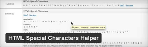 pattern java special characters how to insert special characters into wordpress posts and