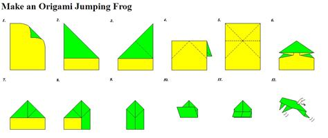 How Do You Make An Origami Frog - july 2011 so to speak