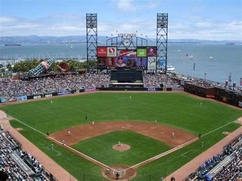 beautiful at t park home of the san francisco giants