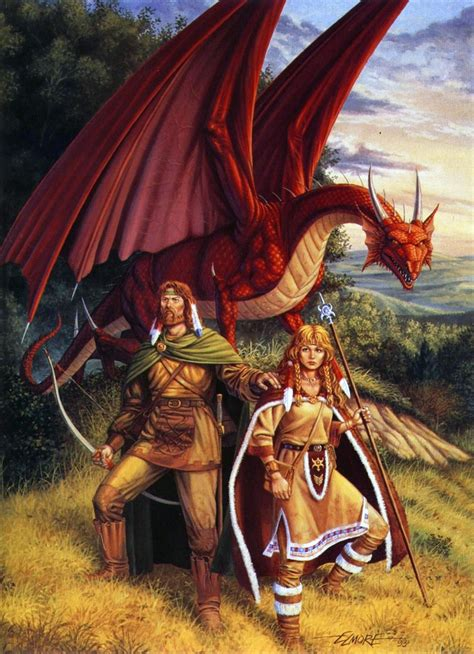 fantasy illustration by larry elmore fantasy art