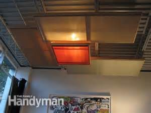 suspended ceiling panels cheap easy and diy