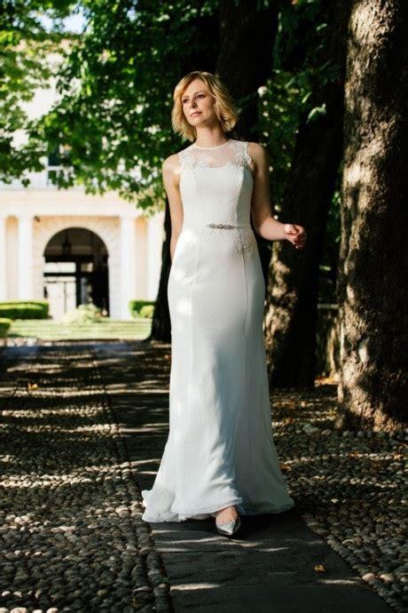Brautkleid Schlicht Modern brautkleider schlicht modern vintage k 252 ssdiebraut