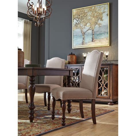 signature design by dining table signature design by baxenburg 7 dining room