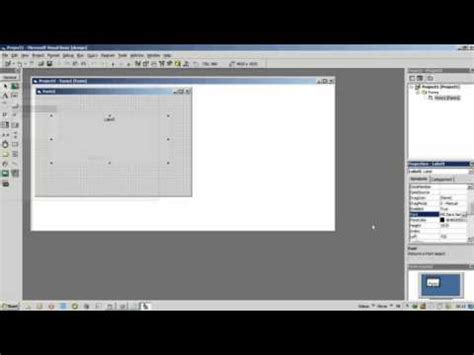 cara membuat jam digital di vb net cara membuat jam digital dengan vb 6 0 youtube