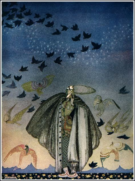 kay nielsen east of 231 izgili masallar east of the sun and west of the moon by kay nielsen