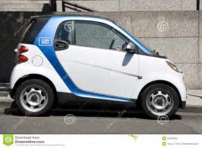Electric Car Sales Seattle Two Car2go Small Electronic Rental Cars Editorial Photo