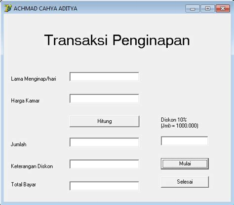 program sederhana java membuat program sederhana java contoh program sederhana delphi