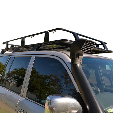 Land Cruiser 80 Series Roof Rack by 4wd 4x4 Roof Rack Land Cruiser 80 Series 2200mm X 1250mm Basket Gutter Mount Ebay