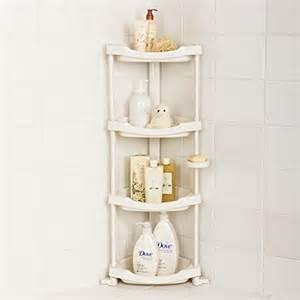 tenby living corner shower caddy 4 shelf shower