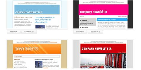 Ultimate Resource Of Email Newsletter Templates Free Email Templates