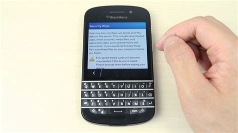 reset blackberry q10 how to master reset blackberry q10 youtube