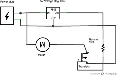 transistor gate emitter physical computing at itp tutorials using a transistor to a high current load