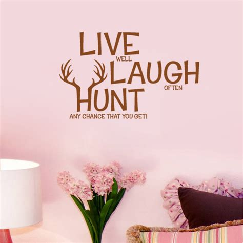 home wall decor online online get cheap deer hunting quotes aliexpress com