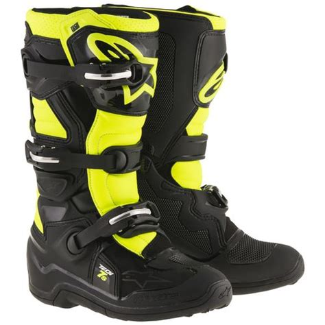 youth motocross boots closeout alpinestars youth tech 7s boots revzilla