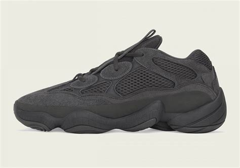 Adidas Yeezy Boost Utility Black by Adidas Yeezy 500 Utility Black Release Date Sneakernews