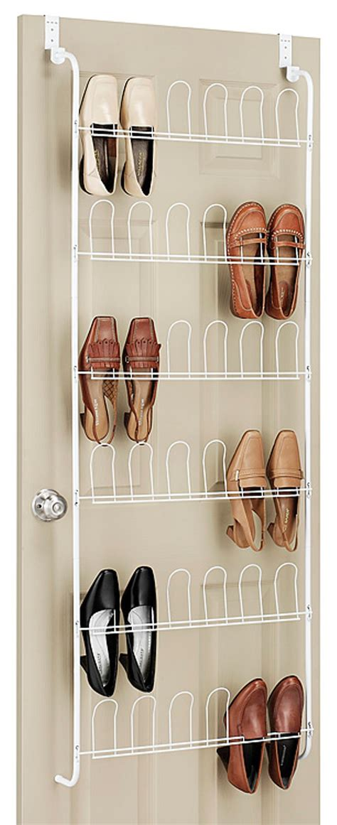 kmart closet organizer essential home 18 pair shoe organizer home storage