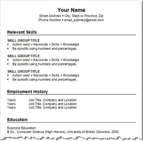 Create Free Resume by Free Create A Resume Learnhowtoloseweight Net