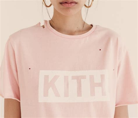 Kith White T Shirt kith introduces distressed logo t shirts for 2017