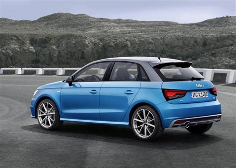 2015 audi a1 facelifted more details of recent update