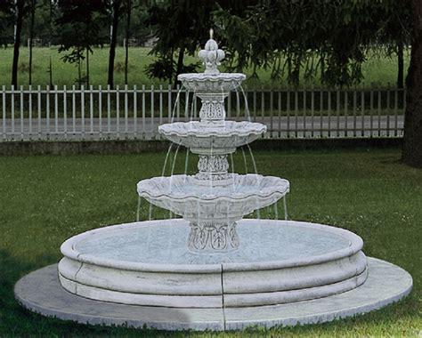 statue da giardino prezzi eshop fontana da giardino in cemento bianco e graniglia