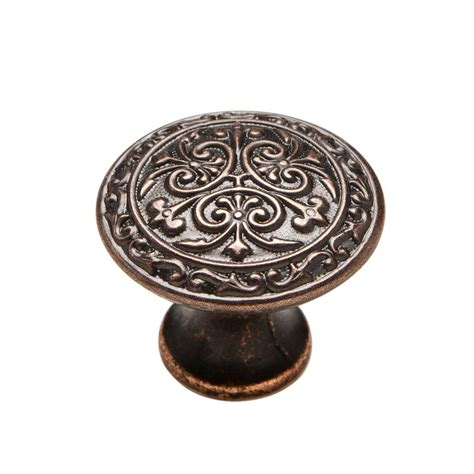 kitchen cabinet knobs home depot knobware 1 1 8 in venetian bronze cabinet knob c5178 1 1