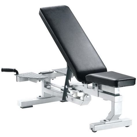 bench conversion york barbell bench conversion package 54007 white 55007 silver strength fitness
