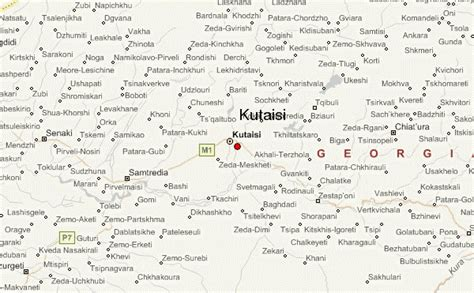 kutaisi map kutaisi location guide