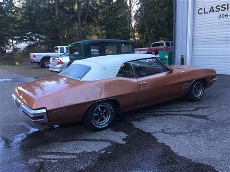 Pontiac Lemans Sport 1971 Pontiac Lemans Sport Convertible For Sale Classic