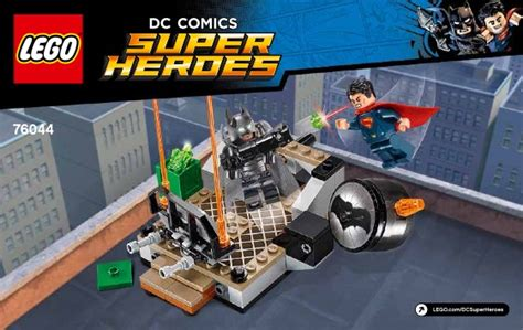 lego clash of the heroes 76044 dc comics heroes