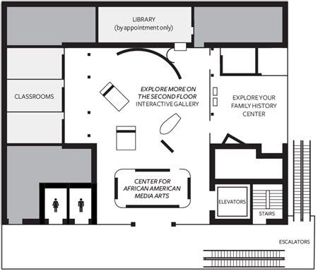 history museum floor plan museum maps national museum of american history and culture