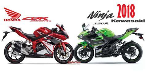 Termurah Rasio Balap 500 Meter Rr Dan R Moto 1 komparasi all new 250 2018 versus honda cbr250rr power 39 ps