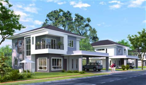 double storey detached house design oak double storey detached house at desa bahagia