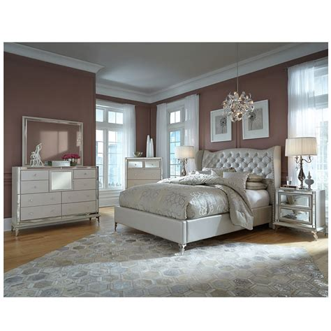 el dorado bedroom set hollywood loft frost mirror el dorado furniture