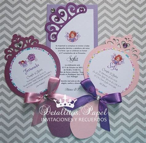Pita Handmade Princess Sofia 25 best ideas about princess sofia invitations on princess invitations the