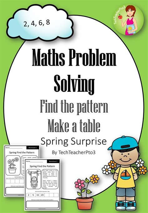 pattern problem solving activities 1000 images about easter and spring math ideas on