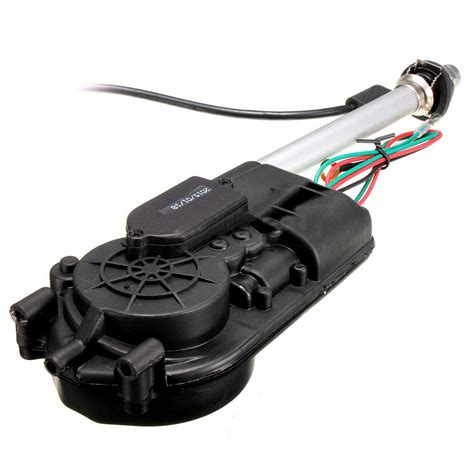 Antena Motor Car Electric Aerial Radio Automatic Booster Power Antenna