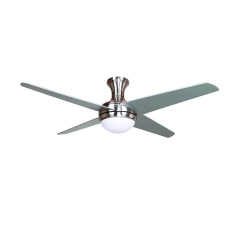 Bright Light Ceiling Fan Yosemite Home Decor 52 In Bright Brushed Nickel Ceiling Fan With 16 In Lead Wire Taysom Bbn