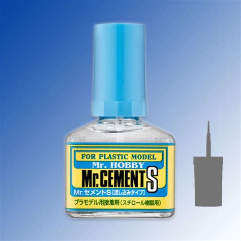 Mr Cement Deluxe Mr Cement S mr cement s thin liquid glue for plastic 40ml hm hobbies