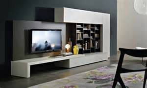 contemporary tv units in wood glass and lacquer made in