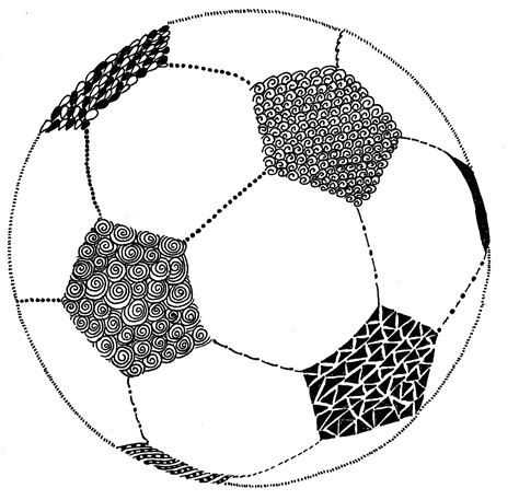 soccer doodle how to draw a soccer clipart best