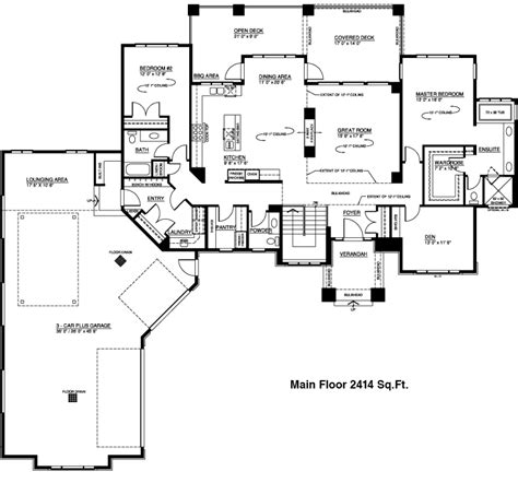 unique ranch house plans stellar homes custom home
