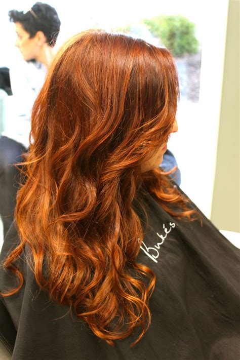copper red ombre hair balayage red hair balayage displaying 20 gt images for red copper